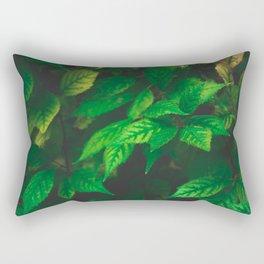 Mystical Leaves Rectangular Pillow