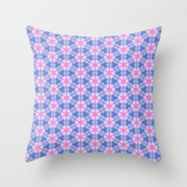 Neon Flux 06 Throw Pillow