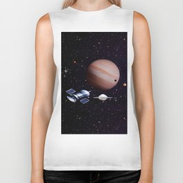 We meet with the Jupiter. Biker Tank