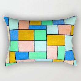 Theo van Doesburg Composition in Dissonances Rectangular Pillow