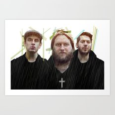 BEAUTIFUL EULOGY x HUMBLE BEAST x JESUS Art Print