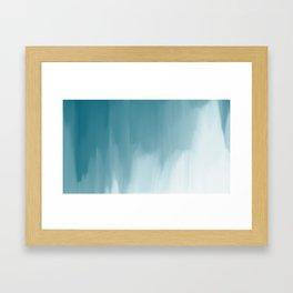 Wolkenbruch artwork Framed Art Print