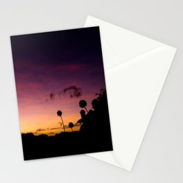 Beautiful Multi Colored Sunset Stationery Cards