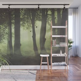 Wispy Forest Mists Wall Mural