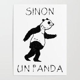Sinon, un panda (2) Poster