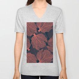 Fan living coral Unisex V-Neck