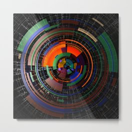 Colorwheel Metal Print