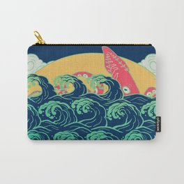 Squid on the waves Carry-All Pouch