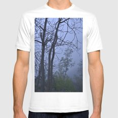 Dreaming... Into the woods MEDIUM Mens Fitted Tee White