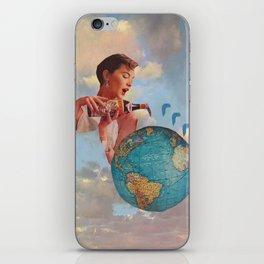 The World Needs Something iPhone Skin