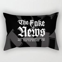 The Fake News Header Rectangular Pillow