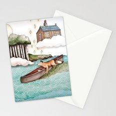 The Day We Saw the Sun Come Up Stationery Cards