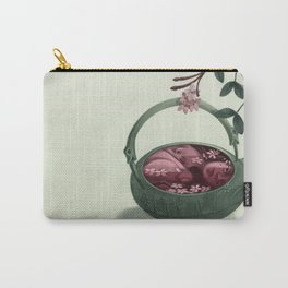 Ophelia in a Teapot Carry-All Pouch