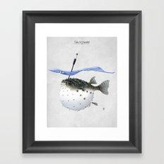 Take It Outside! Framed Art Print