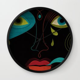 Voodoo Love Wall Clock