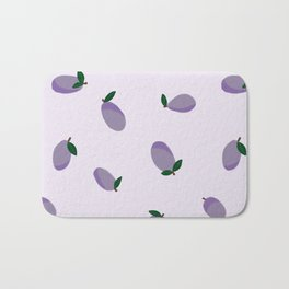 Plums Bath Mat