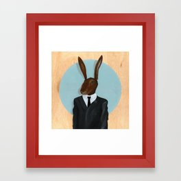 David Lynch | Rabbit Framed Art Print