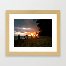 L.O.V.E Framed Art Print