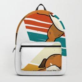 Dabbing German Boxer Dog Boxer Dog Backpack