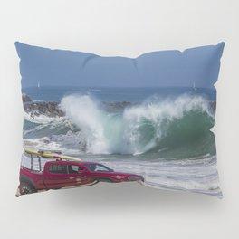Newport Beach Lifeguard Truck Pillow Sham