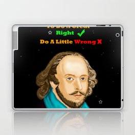 TO DO A GREAT RIGHT Laptop & iPad Skin
