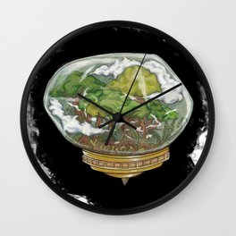 A Forrest out There Wall Clock