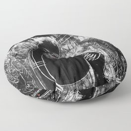 Dreaming in the Forest Floor Pillow