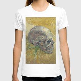 Vincent Van Gogh - Skull 1888 T-shirt