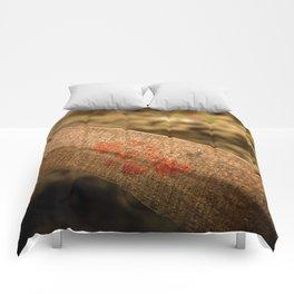 In particular wood Comforters