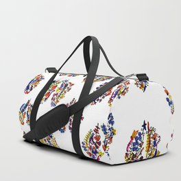 Breathe in Nature's Colors Duffle Bag