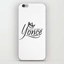 Dont worry, be yonse. iPhone Skin