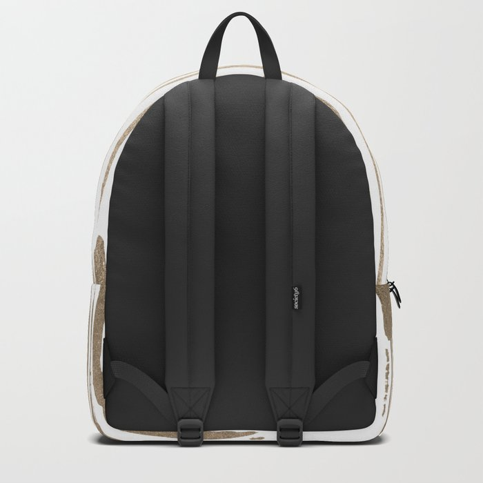 White Gold Sands Thin Bamboo Stripes Backpack
