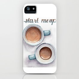 start me up iPhone Case
