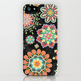 Folky Flora iPhone Case
