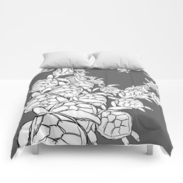Commission-sea turtles Comforters