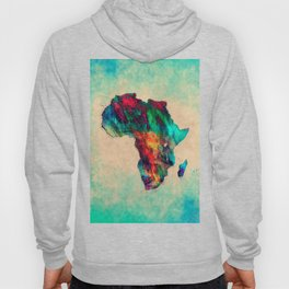 Africa color green Hoody