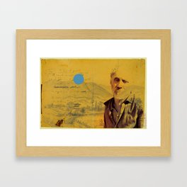 A Moment Passed (Response) Framed Art Print