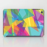 transparent iPad Cases featuring Transparent Triangles by AleyshaKate