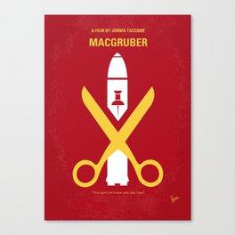 No317 My MacGruber mmp Canvas Print