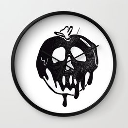 Poison Apple Wall Clock