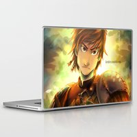 hiccup Laptop & iPad Skins featuring Hiccup by keiden