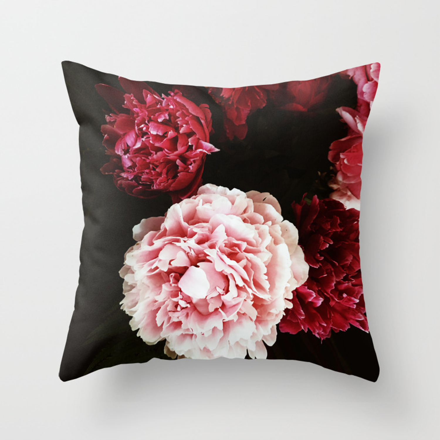 Peony Passion Throw Pillow By Sgd Society6