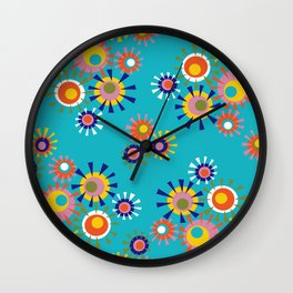 Circle a go go Wall Clock
