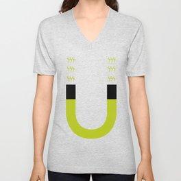 magnet Unisex V-Neck