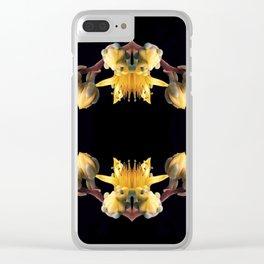 Echeveria inflorescence Clear iPhone Case