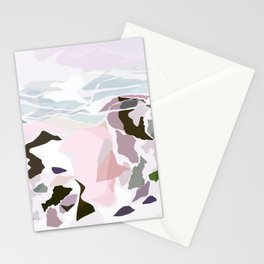 water's edge Stationery Cards