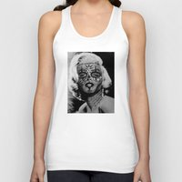 monroe Tank Tops featuring Monroe by mothafuc