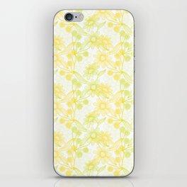 Yellow Camomiles iPhone Skin
