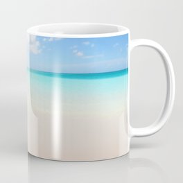 Beach vacation background Coffee Mug