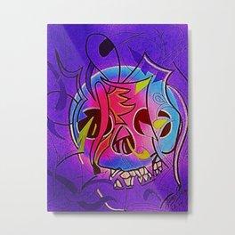 CRÁNEOS 34 Metal Print